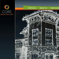 Core Architecture - Website and logo