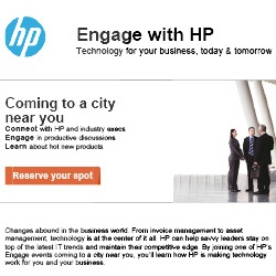 Engage with HP